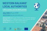 Lokalne vlasti zemalja zapadnog Balkana, Berlinski proces i pridruživanje EU